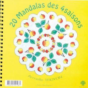 Cahier mandalas des 4 saisons vrac et local allemans